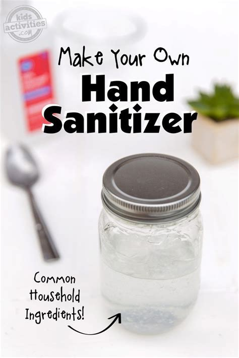 Homemade Hand Sanitizer With Simple Ingredients You