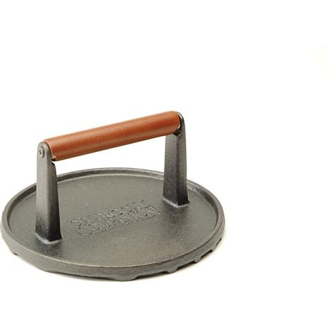 Cast Iron 7-inch Round Grill Press - Free Shipping On