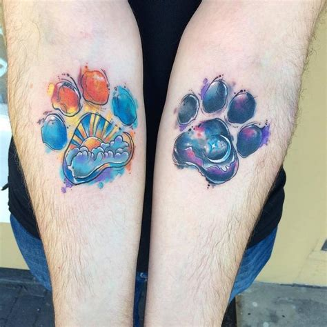 """People are """"Branding"""" Themselves with Dog Paw Tattoos"""
