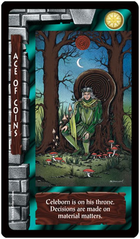 Lord of the Rings Tarot Cards and Game